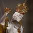 Nawiedzenie figury św.Michała Archanioła zGargano wParafii Miłosierdzia Bożego wOtwocku