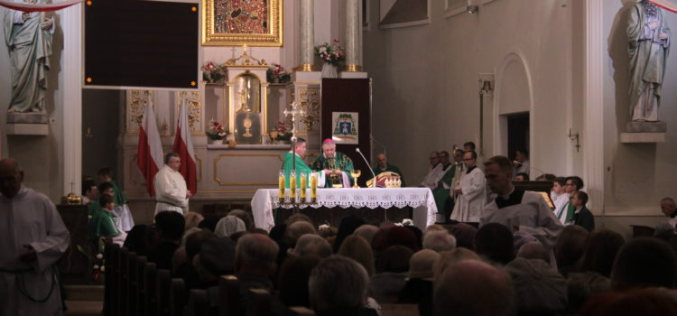 80-lecie parafii MB Częstochowskiej wZielonce