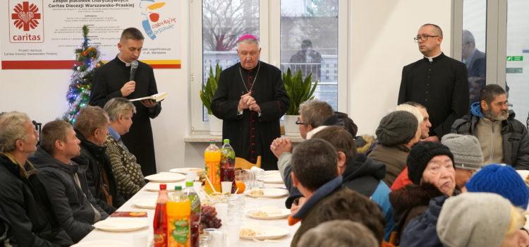 Wigilia osób ubogich wCaritas Diecezji Warszawsko-Praskiej