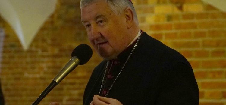 List z życzeniami świątecznymi biskupa Romualda Kamińskiego