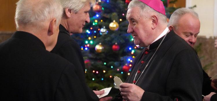 Spotkanie opłatkowe kapłanów