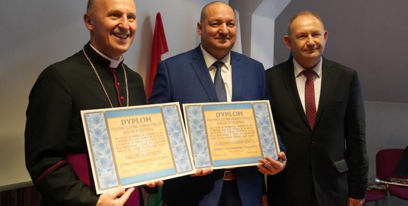 Bp Marek Solarczyk Honorowym Obywatelem Wołomina