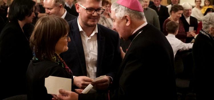 Spotkanie opłatkowe Diecezjalnego Duszpasterstwa Rodzin