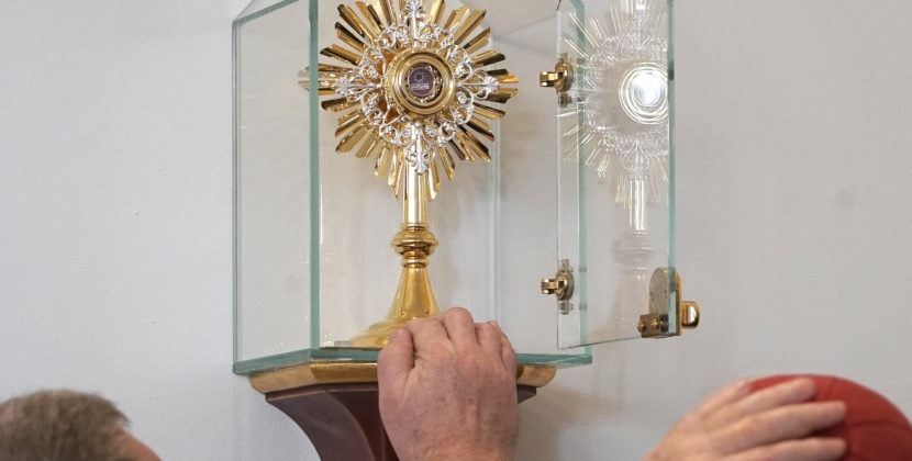 Relikwie św. Joanny Beretty Molli na warszawskim Gocławiu