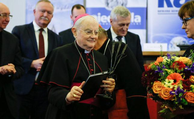 Nagroda im. ks. bp. Romana Andrzejewskiego dla abp. Henryka Hosera
