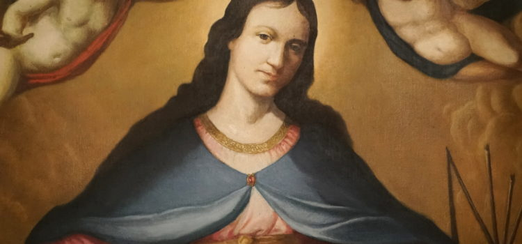 Matka Boża Łaskawa wkaplicy księży biskupów
