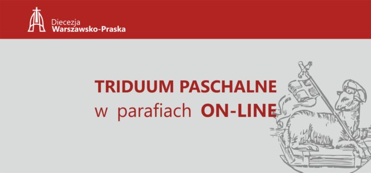 Transmisje Triduum Paschalnego wparafiach Diecezji Warszawsko-Praskiej