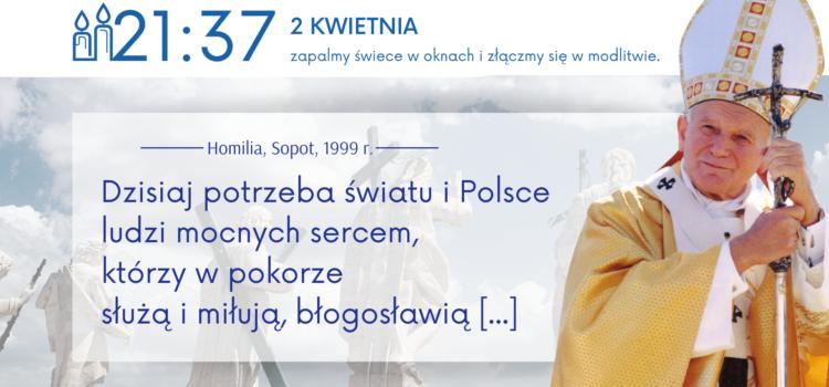 15. rocznica przejścia Jana Pawła II dodomu Ojca