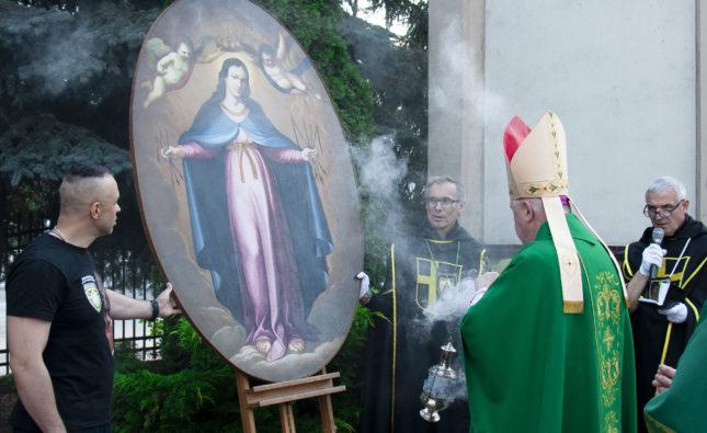 Matka Boża zeswojego zadania wywiązuje się całkowicie – inauguracja obchodów 100. rocznicy Bitwy Warszawskiej