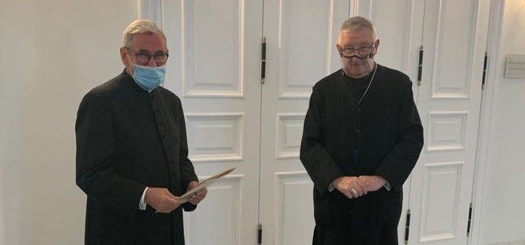 Ks.prał. Zygmunt Wirkowski nowym dziekanem Kapituły Kolegiackiej wRadzyminie