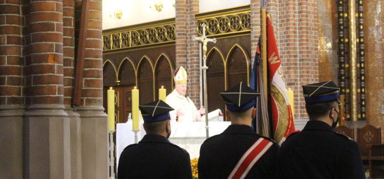 Msza święta wintencji Ojczyzny, strażaków orazich rodzin