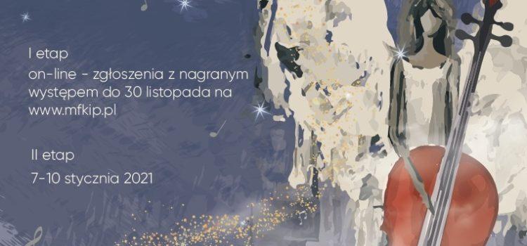 Eliminacje doMiędzynarodowego Festiwalu Kolęd iPastorałek (on-line)