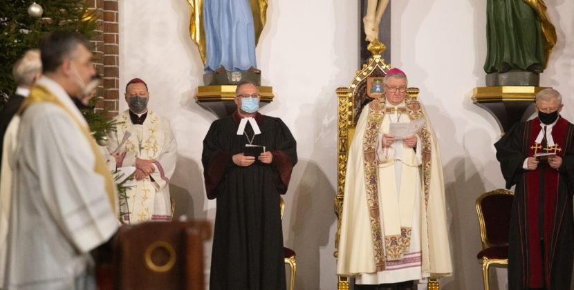 Nabożeństwo Słowa Bożego wKatedrze Warszawsko-Praskiej wramach Tygodnia Modlitw oJedność Chrześcijan