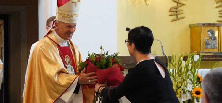 Eucharystia dziękczynna zaposługę bpa Marka Solarczyka wDW-P