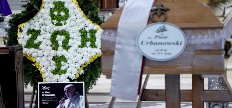 Msza Święta w I rocznicę śmierci ks. Piotra Urbanowskiego