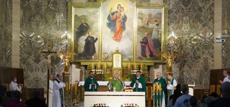 Rozpoczęcie 38. Praskiej Pielgrzymki Pieszej Pomocników Maryi Matki Kościoła