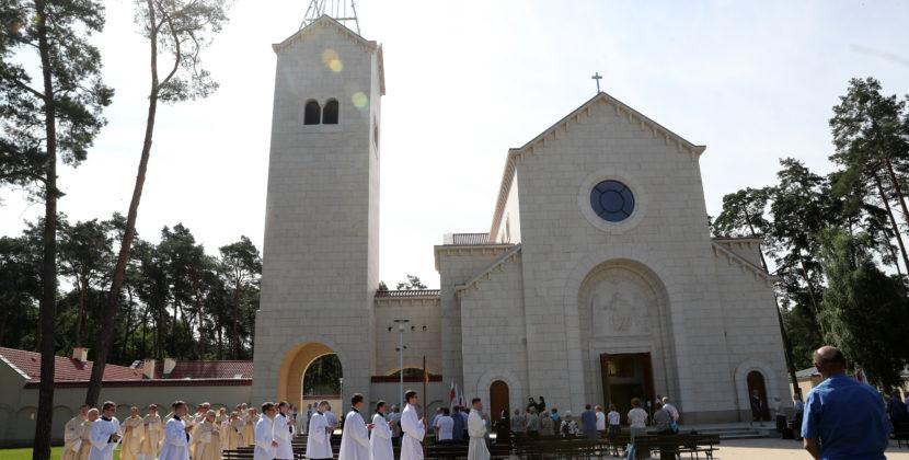 Poświęcenie kościoła wLoretto